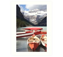 Lake Louise, Alberta, Canada Art Print