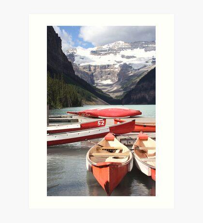 Lake Louise, Alberta, Canada Art Print