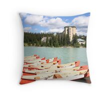 Lake Louise, Alberta, Canada Throw Pillow