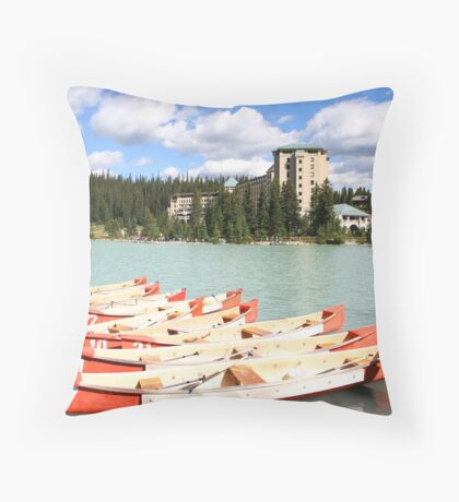 Lake Louise, Alberta, Canada Throw Pillow