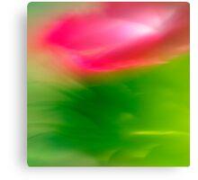 Lensbaby Flower Canvas Print