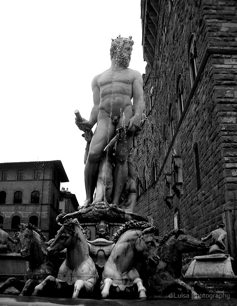 Neptune, God of Water by diLuisa Photography