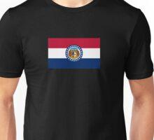 Missouri USA State Flag Bedspread T-Shirt Sticker Unisex T-Shirt