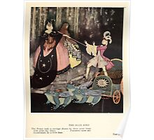 Fairy book Fairy Tales of the Allied Nations - 1917 - Edmund Dulac - 0139 - The Blue Bird Poster