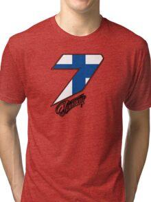 Kimi Räikkönen 7 Tri-blend T-Shirt