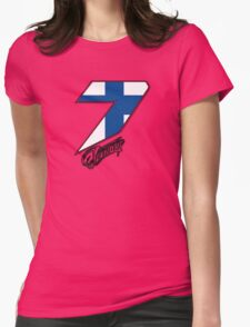 Kimi Räikkönen 7 Womens Fitted T-Shirt