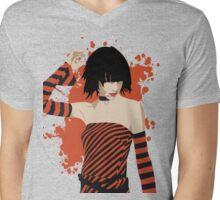 PJ Harvey Mens V-Neck T-Shirt