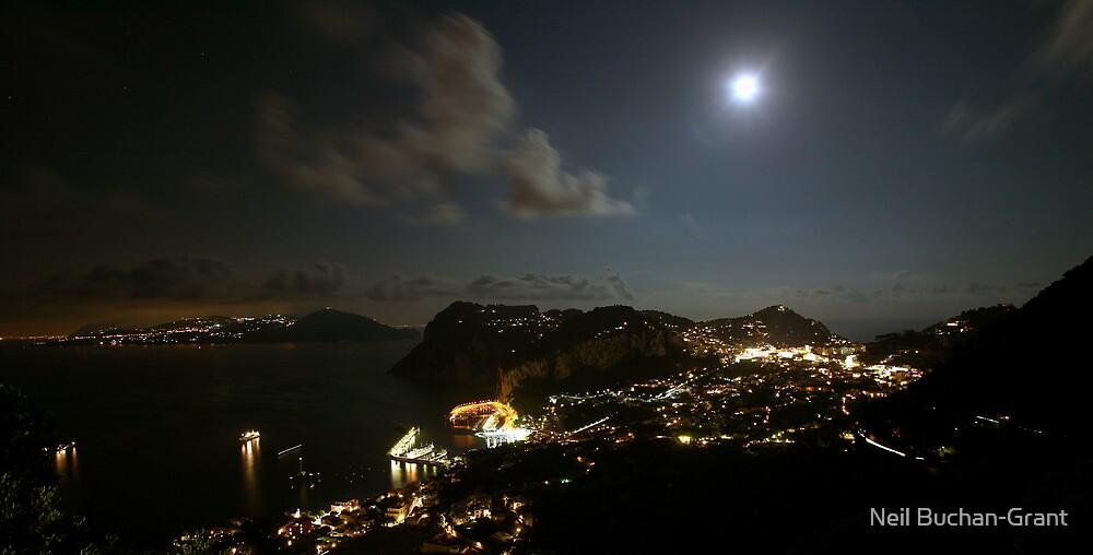 Capri by Moonlight by Neil Buchan-Grant
