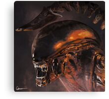 Alien xenomorph Canvas Print