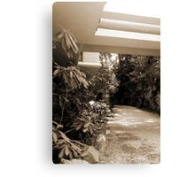Pennsylvania: Falling Water Canvas Print
