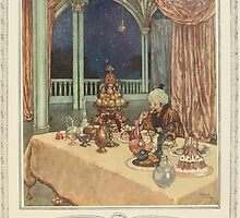 The Sleeping Beauty and Other Fairy Tales from the Old French - Art Edmund Dulac - 1910 - 0117 - He Had Been Fasting by wetdryvac