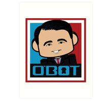 Scott Walker Politico'bot Toy Robot 3.0 Art Print