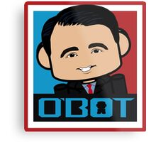 Scott Walker Politico'bot Toy Robot 3.0 Metal Print