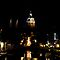 Church Lights At Night