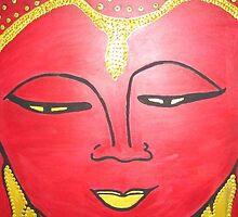 Red Buddha (2009) by Deva Saal