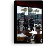 After a Beer Canvas Print