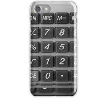 Caculator iPhone Case/Skin