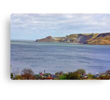 Runswick Bay Canvas Print