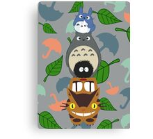 Totem Totoro - BEST FOR SAMSUNG CASES Canvas Print