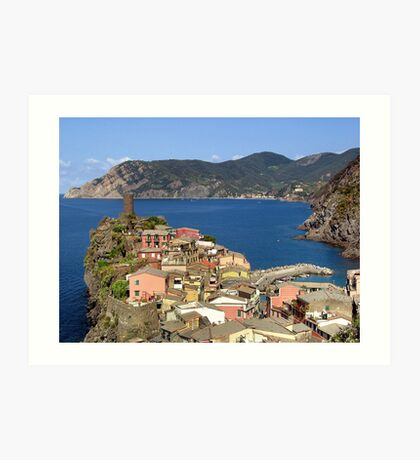 Picturesque Vernazza Art Print