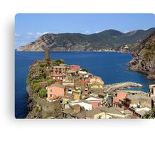 Picturesque Vernazza Canvas Print