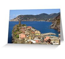 Picturesque Vernazza Greeting Card
