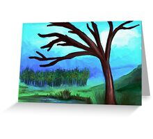 Old Tree Greeting Card