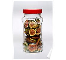 Dried Figs In Jar   Poster