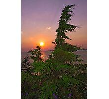 Sunset on Lake Ontario Photographic Print