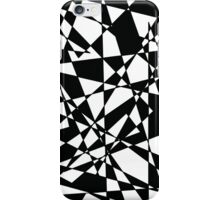 Shattered (BW) iPhone Case/Skin