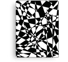 Shattered (BW) Canvas Print