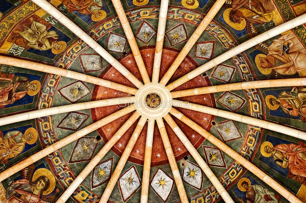 Baptistery of Parma - Ceiling detail by Silvia Ganora