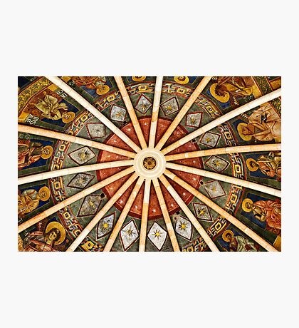 Baptistery of Parma - Ceiling detail Photographic Print