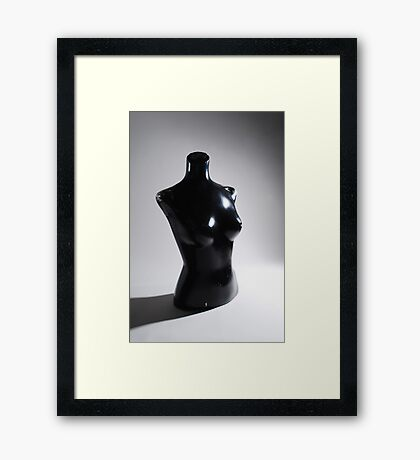 Used and Abused Mannequin I Framed Print