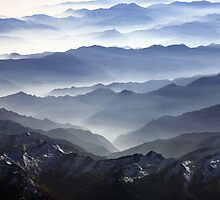 The Alps at dusk by Neil Buchan-Grant