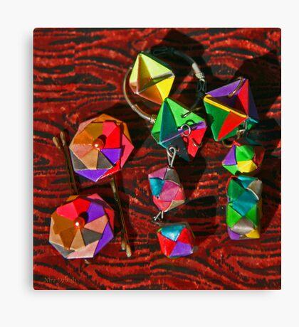 Origami Miniatures Canvas Print
