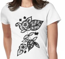 Too Flower Womens Fitted T-Shirt