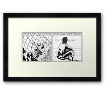 "VIKINGS ""castaway"" Framed Print"