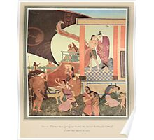 Fairy book Fairy Tales of the Allied Nations - 1917 - Edmund Dulac - 0159 - The Story of Bashtchelic Poster