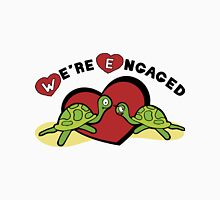 "Funny Engagement Engaged ""We're Engaged"" Unisex T-Shirt"