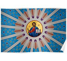 Christ Watching Over Us... Poster