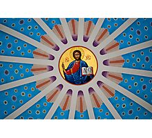 Christ Watching Over Us... Photographic Print