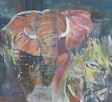 (Elephant) Charging by iane