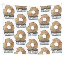 The 'Real' Donut Store. Wall Tapestry