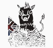 British Unicorn One Piece - Long Sleeve