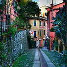 Portofino alley by oreundici