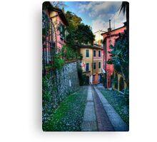 Portofino alley Canvas Print