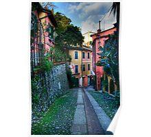 Portofino alley Poster