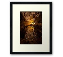 The Caves of Los Verdes Framed Print