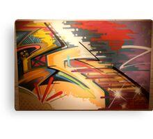 ABSTRACTING K Canvas Print